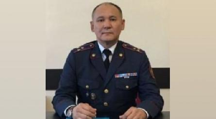 Appointed head of the Department of internal Affairs of Kazakhstan Republic